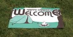 Happy Campers Welcome Decorative Mat Outdoor Mat Camping Tent Rv Welcome Mat OWI http://www.amazon.com/dp/B00DPBGVWM/ref=cm_sw_r_pi_dp_AsTxub1A0VYFD