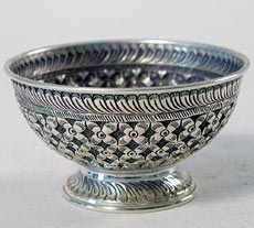 Silver Indian Bowl