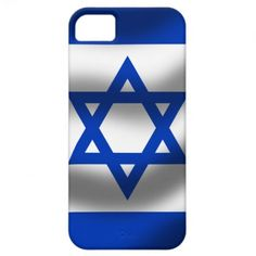 Isreal Flag Iphone 5 Case-Mate Case