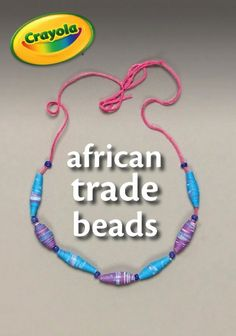 Kids learn about African history and geography as they create beautiful necklaces, bracelets, and ankle bracelets.