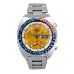 Seiko Chronograph via MarCels. Click on the image to see more!