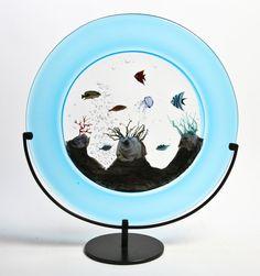 Murano Glass Aquarium Sculpture