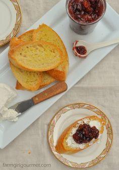 Rosemary Fig Jam   Farmgirl Gourmet