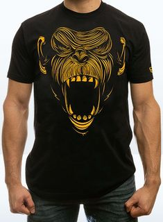 Primal Chimp shirt from Onnit.com So getting one of these.#MonkeyStomp
