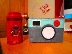 My very own felt camera case! Love it x