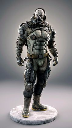 ArtStation - Metal Gear Solid V Parasite Soldier Csaba Molnar Character Concept, Character Art, Character Design, Cry Anime, Anime Art, Armor Concept, Concept Art, Armadura Sci Fi, Cyberpunk 2020