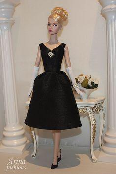 """Arina Fashions"" Clothier | Real cloth for Fashion Dolls"