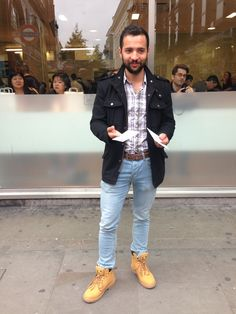 Loving the shoes. Camden, Bomber Jacket, Hipster, Street Style, London, Group, Jackets, Shoes, Fashion