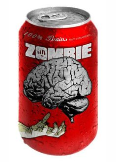 Zombie cola can.