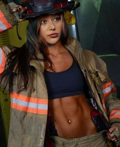 Post with 3257 votes and 158147 views. Tagged with real heroes, make things wet for safety; Fire Fighters for Fit Friday! Firefighter Pictures, Female Firefighter, Fit Women, Sexy Women, Alycia Jasmin Debnam Carey, Clarke And Lexa, Beautiful People, Beautiful Women, Female Fighter
