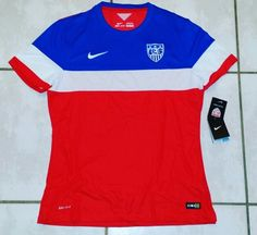 NIKE USA National Team Player Issue Soccer Jersey #jerseys#usmnt#uswnt#soccer#fifa#worldcup