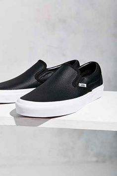 Vans Perforated Leather Slip-On Sneaker - Urban Outfitters