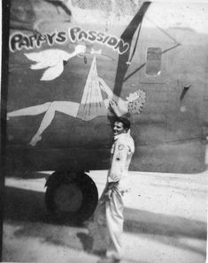 90th Bomb Group Pappy's Passion Pappy's Passion B-24J 90th Bomb Group 319th Squadron Serial #42-100222 PH00032022 (Richard Le Donne Collection)