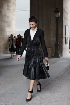 The Coolest Ladies at @LouisVuitton, Paris - The Sartorialist