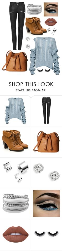 """""""Pretty Autumn"""" by rnieass on Polyvore featuring Magda Butrym, ECCO, David Yurman and Lime Crime"""