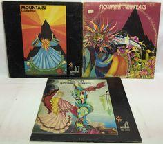 Mountain Lot of 3 Vinyl Record Albums - Climbing Twin Peaks Nantucket Sleighride
