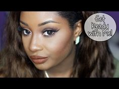 Get Ready with Me | Neutral Eyes + Chocolate Lips! (Makeup)