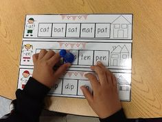Word Family freebie! Perfect for kindergartners or 1st graders who need some extra help with CVC words!