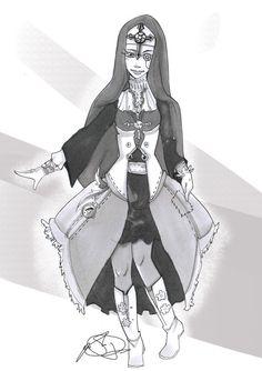 Steampunk Nun by santichan