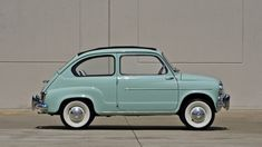 1960 Fiat 600 Sunroof Sedan - 2 - Print Image Fiat Cars, Fiat 600, Car Restoration, Rear Wheel Drive, Manual Transmission, Camper Van, Vintage Cars, Classic Cars, Garage