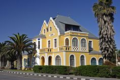 German Colonial Architecture - Swakopmund - Namibia