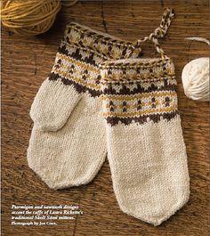Ravelry: Skolt Sami Mittens pattern by Laura Ricketts