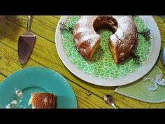BIZCOCHO DE YOGURT CASERO / RECETA CASERA / - YouTube