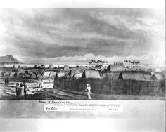 """Southeastern part of the """"town of HANAMUNA"""" (?) , Oahu (May, 1826)"""