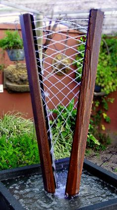Water Harp- love this!