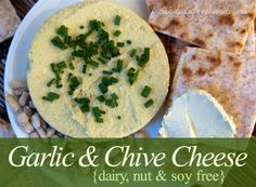 Garlic and Chive Cheese (Dairy and Soy Free) - MasterCook