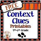 """Context Clues.    """"These Context Clues Printables offer print and go, common core aligned, context clues activities for 4th-6th grade. This context clues product includes four instructional pages to help students search for context clues in text, 1 reading passage, and one multiple choice printable that corresponds with the reading passage."""""""