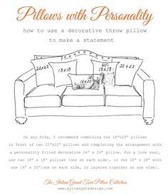 how to decorate with throw pillows? - designwotcha.com