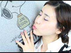 [미대의 네일컬렉션]60화_스누피 네일아트 /Snoopy Character nail art/スヌーピーのキャラクターネイルアート - YouTube