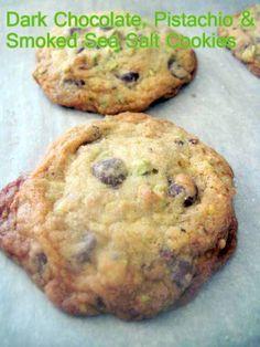 Dark Chocolate, Pistachio & Smoked Sea Salt Cookies