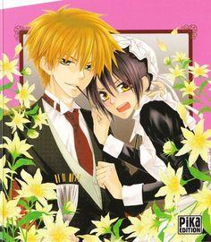 Kaichou wa maid sama - Usui and Misaki. Noragami Anime, Manga Anime, Anime Art, Tsundere, Manga Love, Anime Love, Best Romantic Comedy Anime, Usui Takumi, Misaki