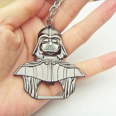 Darth Vader Beer Bottle Opener Star Wars merchandise https://funstarwars.com/shop/star-wars-jewelry/darth-vader-beer-bottle-opener/ 9.25 Darth Vader keychain Bar Beer Bottle Opener Metal Alloy style model figure Kitchen Tools for souvenirs Descripion: 100% New Brand Material:zinc Alloy Color:as the picture bronze plated Packing included:1PCS Size:2.4inch*2.25inch 6*5.8cm weight: 18g