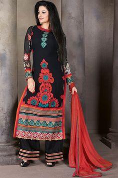 Charming Designer Viscose Georgette Salwar Kameez