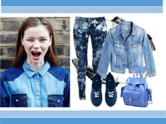 """""""Genie Jeans"""" by hipsterfever on Polyvore"""