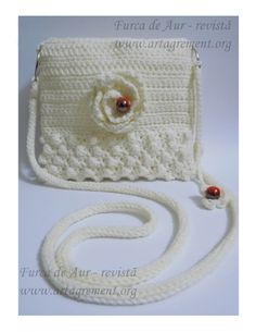 Crochet purse for women by icamelia on Etsy