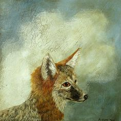 Fox Portrait by Anne Siems