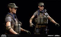 3d Model Character, Military Guns, Weapons Guns, Modern Warfare, Call Of Duty, I Can, Video Game, Airsoft, Cod