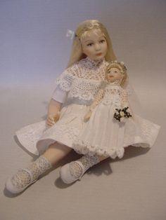 GOOD TIMES: June - Time For June Brides (Dollshouse dolls by Debbie Dixon-Paver)