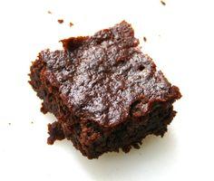 Zucchini Brownies (No Flour, Butter, Sugar, Oil, or Egg)!