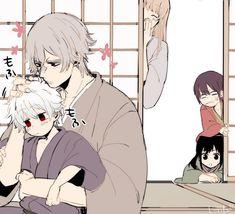 Oboro x Gintoki Best Comedy Anime, Gintama Wallpaper, Wise Monkeys, Wolf Love, Anime Love Couple, Anime One, Manga Characters, Slayer Anime, Anime Demon