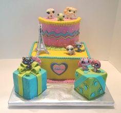 Littlest Pet Shop Present Cake — Children's Birthday Cakes