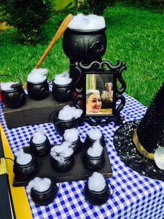 Na arrumação para a parte das Poções mágicas da bruxa Leocadia DPA