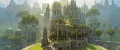 Image result for elven city concept art
