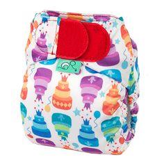 Happy Birthday Tots Bots V4 Teenyfit nappy 5-12 lbs