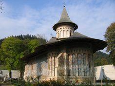 Painted monastery, Voronet, Romania