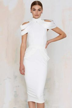 Zhivago Nepths 2-Piece Bodycon Dress | Nasty Gal. Love the architectural structure of this dress